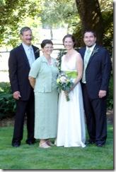 Dave, Aggie, Katie, Joel