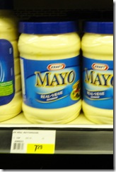 30-40 Kraft Mayo sign