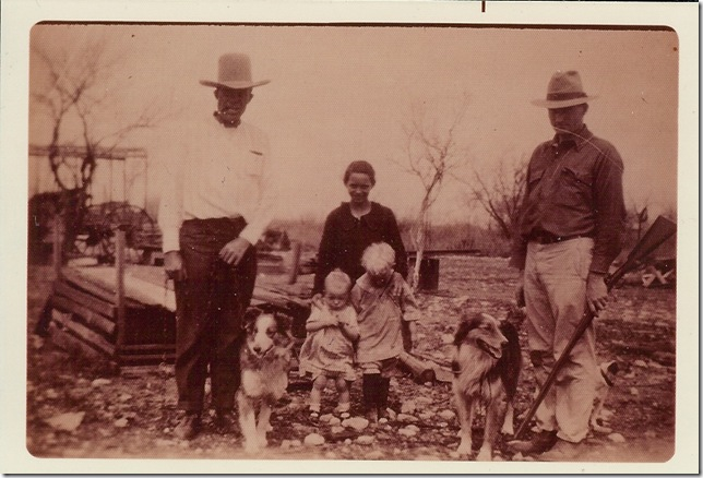Montgomery Family with dogs