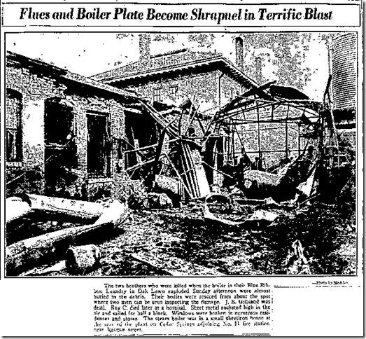 Bolier Blast Photo