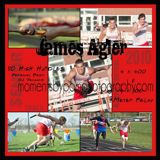 James Track Collage 2010 logo