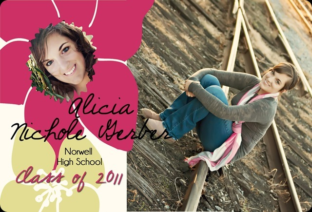 2011 Grad Announcement Alicia Front