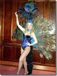 peacock showgirl