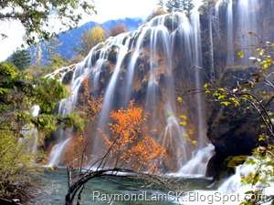 九寨沟-瀑布2 JiuZhaiGou Valley - waterfall 2