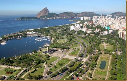 Aterro do Flamengo atual