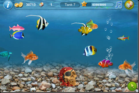Sounds like folly tap fish app review and tips for Fish tank app