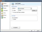 configurando a pasta dos downloads do flashget