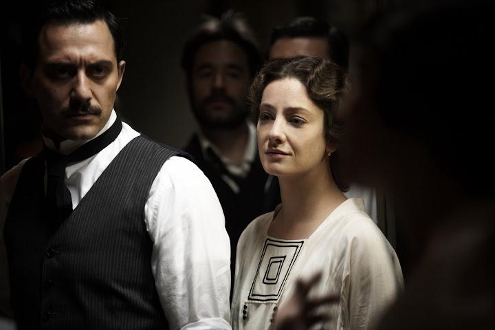 Cena do filme italiano Vincere