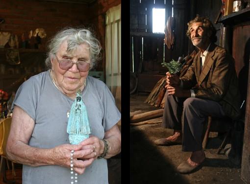 Cenas do documentário Benzeduras - A sagração do cotidiano