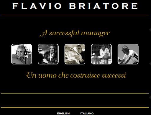 Site de Flavio Briatore
