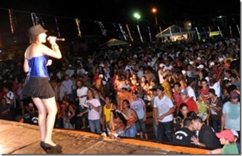 Banda Udoo animou cerca de 3.500 foliões na primeira noite do Carnaval em Bonito | Foto por: Bonito Informa