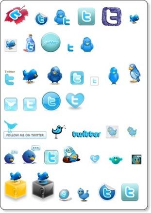 mas de 50 iconos para Twitter - Wikital