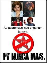 Selo Dilma Chucky