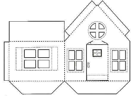 Casas armables para recortar imagui for Realizar planos de casas gratis