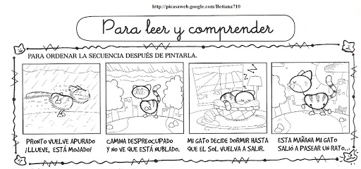 CUENTOS Y SECUENCIAS FICHAS DE LENGUAJE DE CUENTOS Y SECUENCIAS