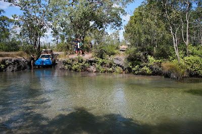 4x4 Nolan's Brook, Old Telegraph Track, Cape York