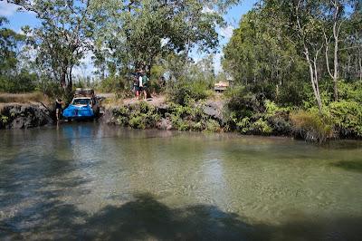 4x4 Nolan's Brook, Old Telegraph Track, Cape York
