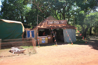 The Croc Tent Cape York