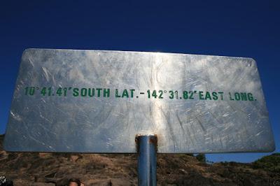 Sign Cape York Australia