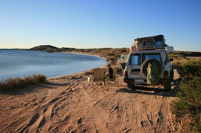 Whalebone Bay Shark Bay World Heritage Site Western Australia