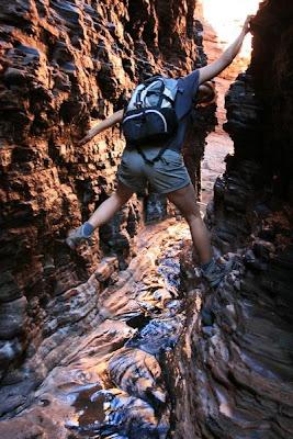 Hancock Gorge Karijini National Park Western Australia
