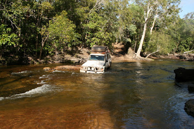 4x4 Cockatoo Creek Cape York