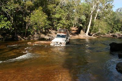 4x4 Cockatoo Creek Cape York
