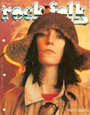 Patti Smith en couveture de Rock & Folk en 1978