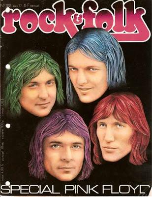 Pink Floyd en couverture de Rock & Folk en 1976