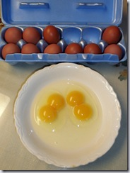 Double-yolkers!