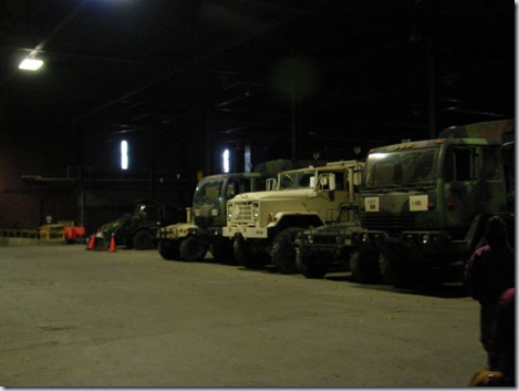 Vehicle Maintenance Area