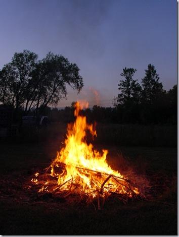 Memorial Day Weekend Fire