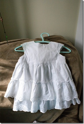 white dress 6-9mos