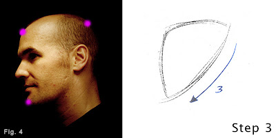 How to draw a head-step 1-figure 4