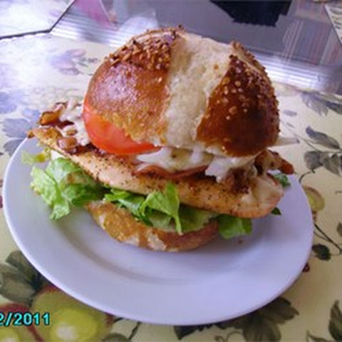 Bacon Jack Chicken Sandwich