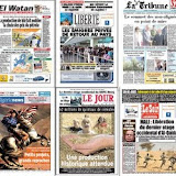 La presse nationale revient sur le mauvais arbitrage du match Algérie Egypte
