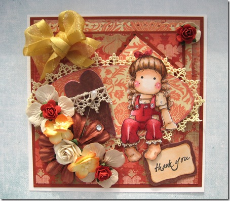 rustic reds and golds