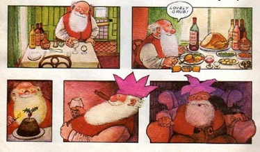 Raymond Briggs Father Christmas 2