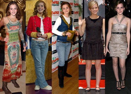 emma watson picture from 2003 to 2007