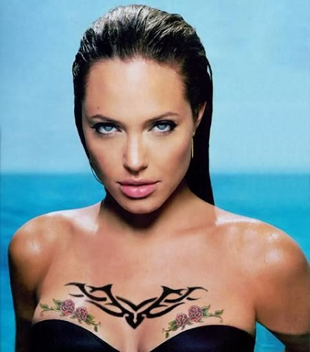 Hollywood Top Actress Angelina Jolie Bikini Photos