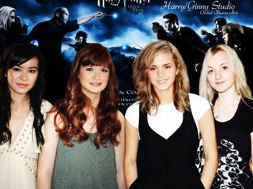 harry potter girls photos