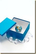 globe as a gift