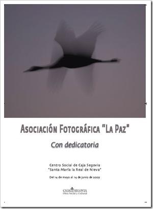 Cartel de la exposición. Fotografía Saturnino Casasolas.