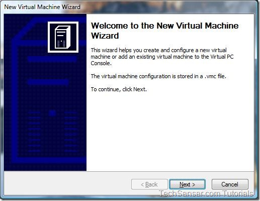 2New Virtual Machine Wizard