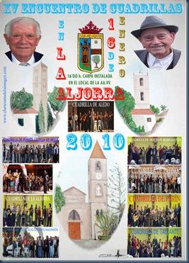 Cartel Aljorra 2010 medios