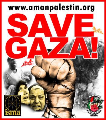 Ayuh, selamatkan Gaza!