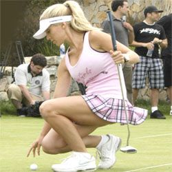 new golf hotel golfing girl 1