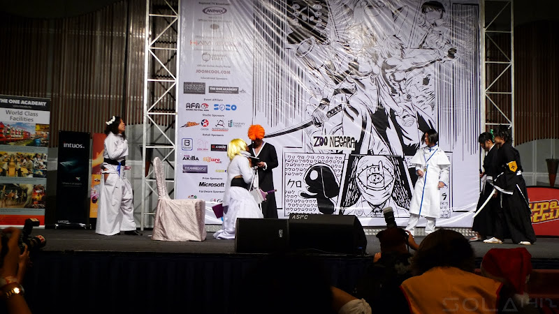 Comic Fiesta Day 1 group cosplay competition
