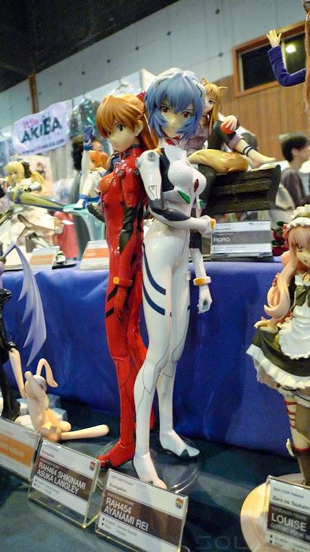 Comic Fiesta Day 1 figurine Asuka and Rei