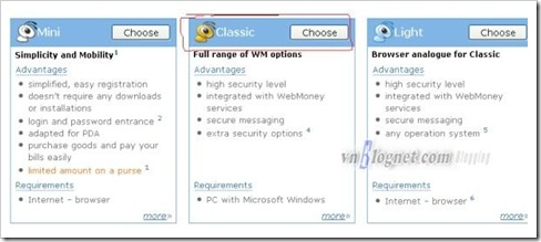 CHOOSE Classic webmoney_wm